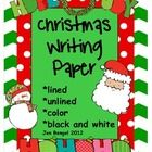 17 different Christmas themed papers are included in this download.  Some pages are unlined and would work great for writing or drawing!  $1.50