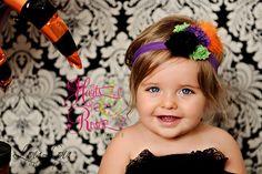 Halloween Headband,Baby Headband,Baby Headbands,Baby Girl Headband,Halloween Baby Headband,Baby Hair Bows,Witch Headband by HartsandRoses on Etsy