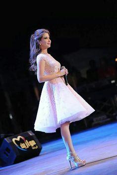 Nancy Ajram at Mawazine in a Zuhair Murad dress! Most wonderful dress ever!!!!!
