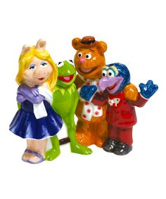 Look at this The Muppets Salt & Pepper Shakers on #zulily today!