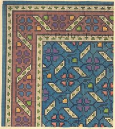 Gallery.ru / Фото #31 - 487 - ergoxeiro Diy Embroidery, Cross Stitch Embroidery, Loom Patterns, Cross Stitch Patterns, Cross Stitch Tree, Cross Stitch Pictures, Rugs On Carpet, Carpets, Patterned Carpet