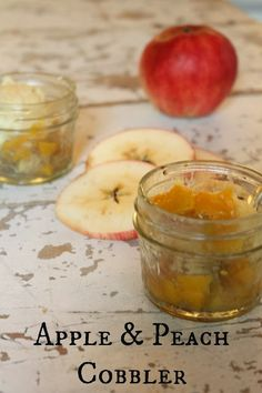 My Sweet SavannahThis recipe perfectly combines the richness of summer peaches with fall-harvested apples.
