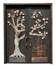 I LOVE these doors and can picture these on our old Spanish house (that we are yet to find!)