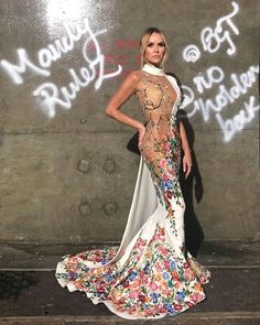 BGT facing Ofcom investigation over Amanda Holden's 'spiderweb' dress Britain's Got Talent Judges, Amanda Holden, Britain Got Talent, Sheer Dress, White Dress, Couture Dresses, Dress Collection, Dress To Impress, Designer Dresses