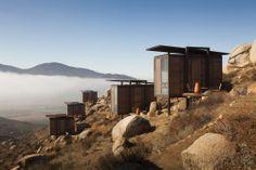 El hotel Endémico en el Valle de Guadalupe, Baja California. Uno de los lugares que quiero conocer próximamente.