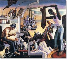 Thomas Hart Benton's epic mural America Today has been donated to The Metropolitan Museum of Art - Jonathan Kantrowitz