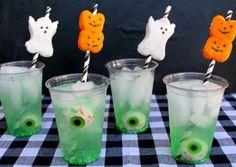 Halloween drankjes met enge vulling! Kijk op Kinderfeest.nu voor meer tips!