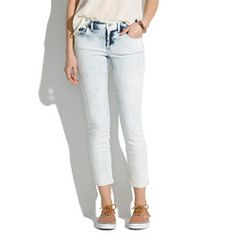 Skinny Skinny Crop Jeans in Light Storm