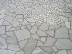 polygonalplatten porphyr rot braun gartenwege