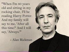 Alan Rickman morto: fece il Severus Piton in Harry Potter