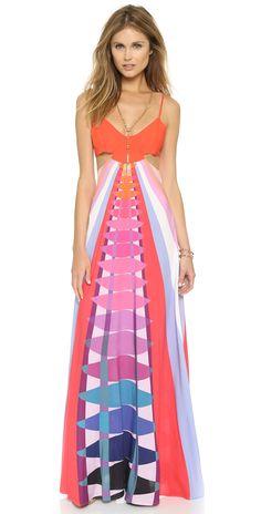 Mara Hoffman Cutout Maxi Dress | SHOPBOP
