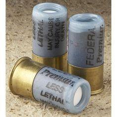 3 rounds Firequest® Flash Thunder Grenade 12 gauge hotshells