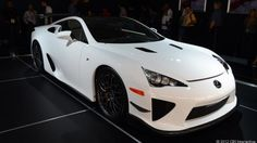 Lexus LFA Nurburgring Edition - CNET Reviews via @CNET