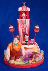 Wreck-it-Ralph cake.