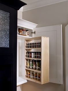 Pull Down Spice Rack My Christmas List Pinterest Spice Racks Spices And Kitchen Designs