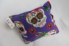 Sugar skull catnip pillow