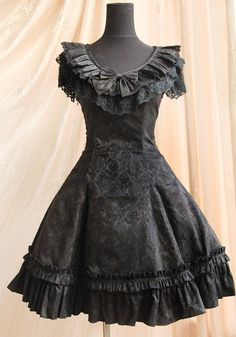 This dress is Gothic Lolita, but it should never ever be worn without a blouse. Description from pinterest.com. I searched for this on bing.com/images