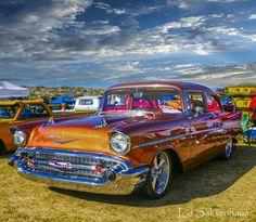 1957 Chevrolet Copper Color by esaksenhaus