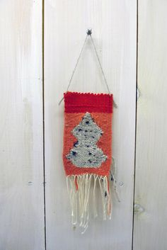 small weaving // wall hanging by AnnaSlezak on Etsy