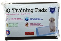 Creative Pet Group Training Pads - Super Absorbent Six Layer Design Controls Odor (30, 50 and 100 Count Options) *** Find out more details by clicking the image : Dog Litter and Housebreaking
