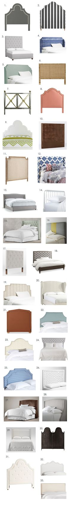 Big Headboard Roundup!