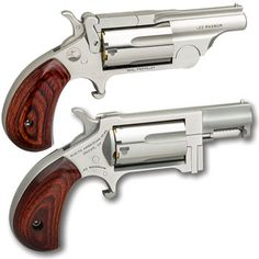 North American Arms, 22 Pistol, Gun Vault, Double Barrel, Hunting Rifles, Cool Guns, Guns And Ammo, Survival Skills, Shotgun