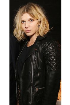 How to get Clémence Poésy's perfectly tousled lob.