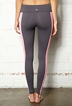 Colorblocked Active Yoga Legging   FOREVER21 - 2000109881