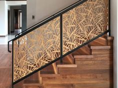 escaleras a medida personalizadas: barandas de escaleras, modelos de barandas metalic...