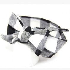 Big Cloth Bow Headband