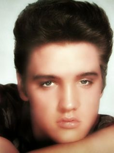 Elvis - 1950's (I could get lost looking in his eyes)