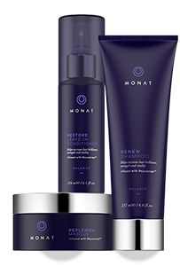 Balance System by Monat is excellent for curly, frizzy or chemically treated hair. http://pille.mymonat.com