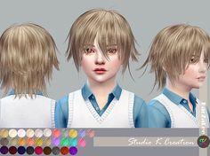 Animate hair 80 Yuji-child | Studio K Creation by karzalee