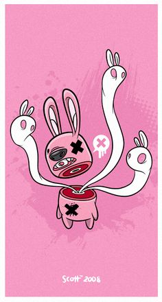 Bunny gone by cronobreaker on deviantART