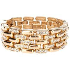 CINER VINTAGE link bracelet ($325) ❤ liked on Polyvore