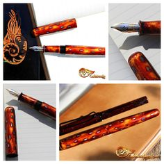 Fountain pen, ink, urushi, lacquer, handmade, Füllfeder, Tinte, Lack, selbstgemacht Beauty, Dyes, Homemade, Beleza