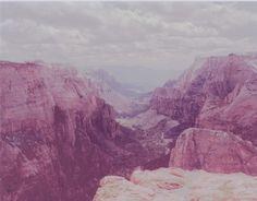 """Zion canyon"", 2014"