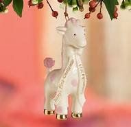Babys First Christmas Giraffe Ornament By Lenox Pink >>> Want to know more, click on the image.