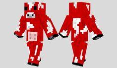 Mooshroom Skin para Minecraft