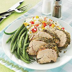 Learn how to make Pork Tenderloin with Cornmeal-Herb Crust. MyRecipes has 70,000  tested recipes and videos to help you be a better cook