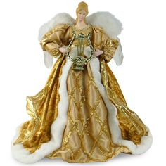 221a5a80c05d National Tree 16 Inch Gold Angel for Treetop or Table Decoration >>>  Instant Savings available here : Nutcrackers