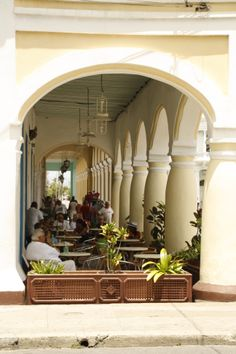 Outdoor lounging in Cienfuegos, Cuba Going To Cuba, Cienfuegos, Havana Cuba, Revolution, Scene, Places, Travel, Outdoor, Decor