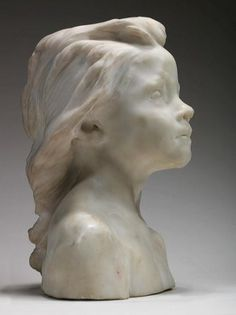Camille Claudel (1864 - 1943), La Petite Châtelaine, 1895-Just went to the Rodin Museum in Paris- and saw some of her work-