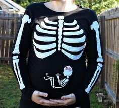 This would be cute if you're expecting at Halloween time
