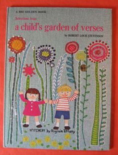 Selections from a Child's Garden of Verses by Pistilbooks on Etsy