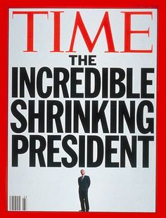 TIME Magazine Cover: Bill Clinton on the Decline -- June 1993 ][ that time bill shrunk. Time Vault, Time Magazine, Magazine Covers, Cover Report, Newspaper Cover, Inspirational Quotes For Kids, News Magazines, Tv Guide, Cover Pics
