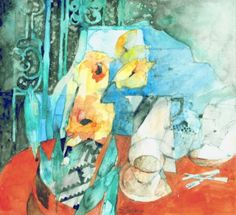 Original Watercolour by Shirley Trevena RI #Royal_Institute_of_Painters_in_Watercolours #originalart #watercolour #watercolorpainting  #exhibition