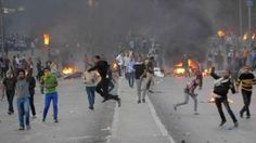 Violent clashes in the Egyptian capital used live ammunition and internal media advises caution