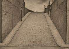 'Junction Street, Stony Brow, Ancoats' (1929) by LS Lowry.
