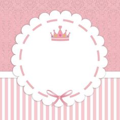 Little Princess Label - Diy Crafts Princess Party, Little Princess, Logo Online Shop, Baby Stickers, Baby Shawer, Baby Album, Baby Scrapbook, Baby Cards, Kids And Parenting